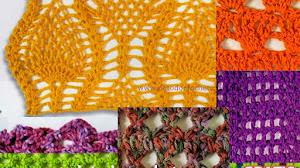 25 Patrones de Puntos Crochet / Para coleccionar
