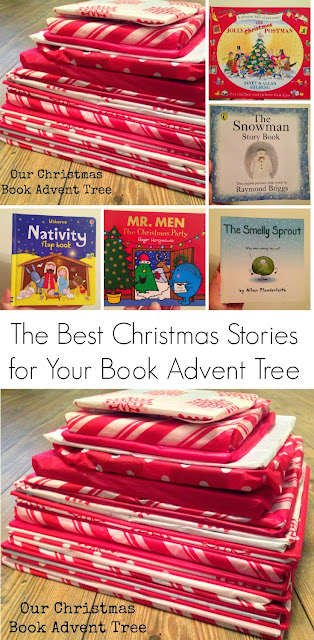 Our Christmas Book Advent tree | Ideas for the Best Children's Books to Read this Christmas