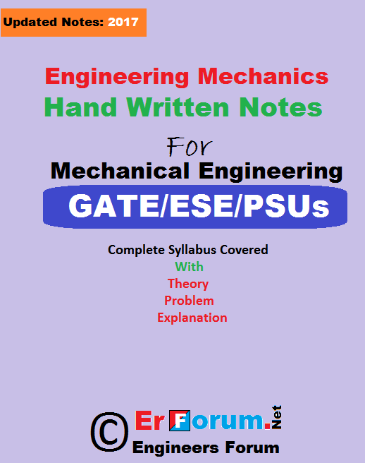 engineering-mechanics-handwritten-notes