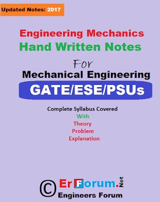engineering-mechanics-handwritten-notes