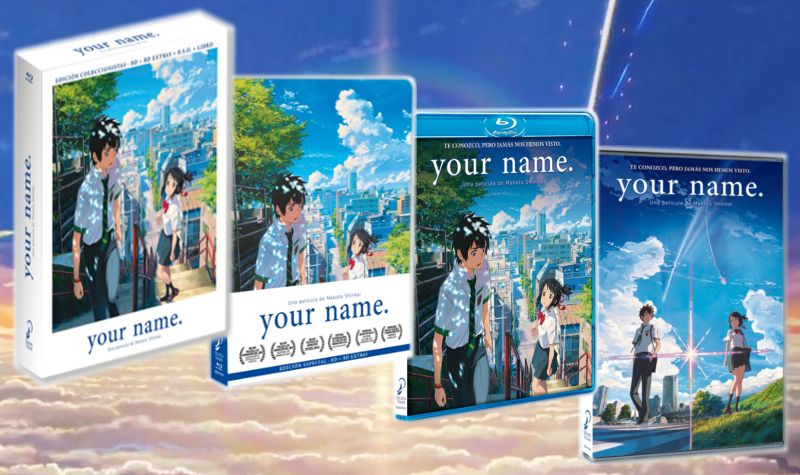 Image result for blu ray dvd your name selecta