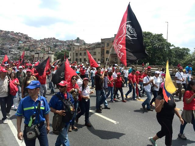 1° de Mayo: La Clase Obrera se Moviliza contra la Agresión Imperialista