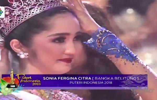 Juara Pemenang Puteri Indonesia Tadi Malam 9 Maret 2018