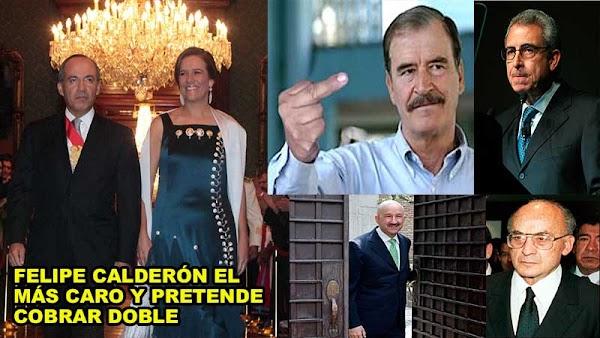 Expresidentes, viudas y Margarita Zavala cuestan a los mexicanos más de 60 millones al año