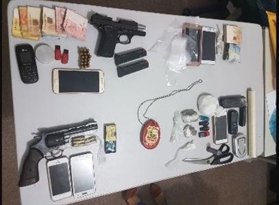 Onze pessoas são presas em operação na cidade de Pacajus