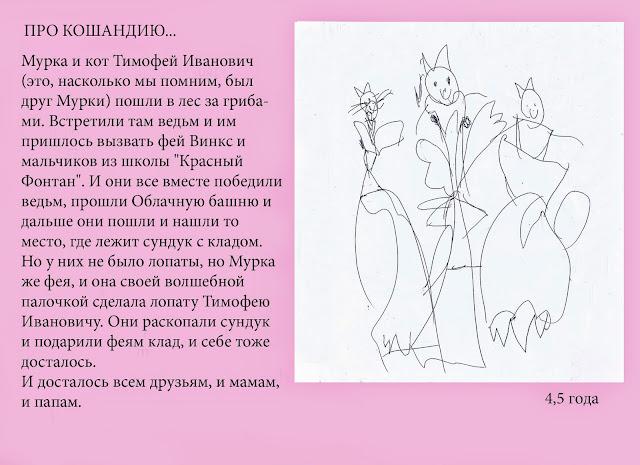 Настины сочинялки и рисовалки про Кошандию