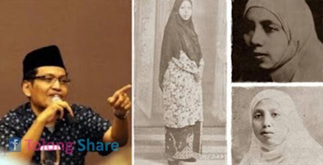 Ulil Kecewa Hijab Syar'i Gusur Kerudung Indonesia, Padahal Hijab Syar'i Sudah Ada Di Sini Sebelum Ulil Lahir