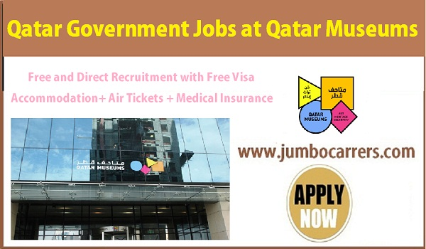 Qatar Museums jobs with accommodation, Show all new government jobs in Qatar,