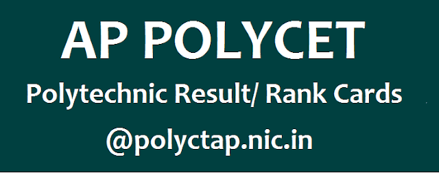 AP Admissions, AP POLYCET, AP Results, AP State, Polytechnic Result, State Board of Technical Education and Training, www.polycetap.nic.in