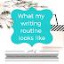Writing Wednesdays: What my writing routine looks like