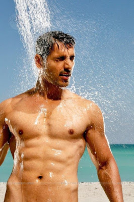 John abraham pre and post workout you must copy.