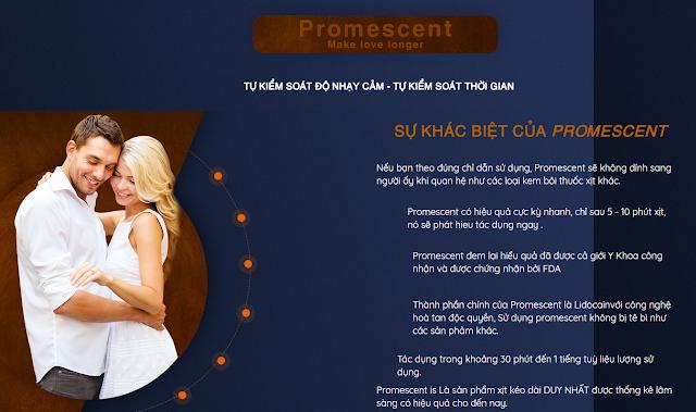 Xịt Promescent – Kiểm Soát Thời Gian – Đánh Thức Bản Lĩnh Phái Mạnh - Ảnh 2