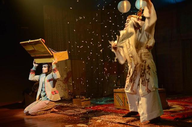 Dirvetilândia recebe espetáculo 'Haru: A Primavera do Aprendiz'