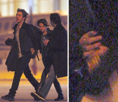 are robert pattinson and kristen stewart dating in real life