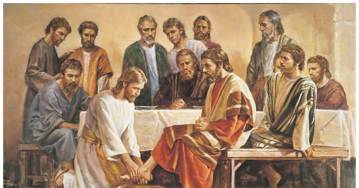 AN EXAMPLE FOR YOU: Devotion for Maundy Thursday March 24, 2016