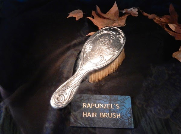 Into the Woods Rapunzel hair brush prop
