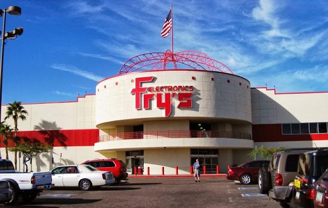 Loja Fry's na Califórnia