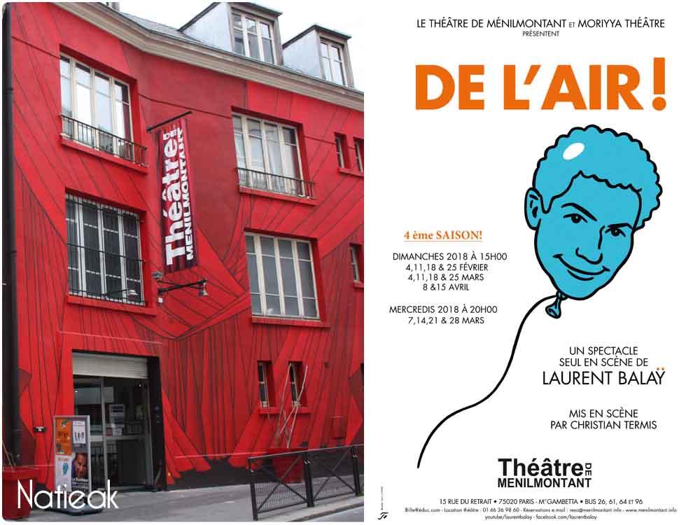 Théâtre Menilmontant Paris