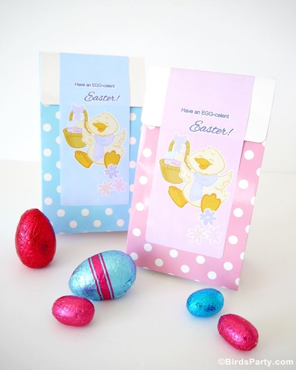 FREE Easter Party Printables