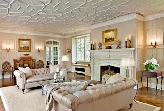 diseño de sala beige
