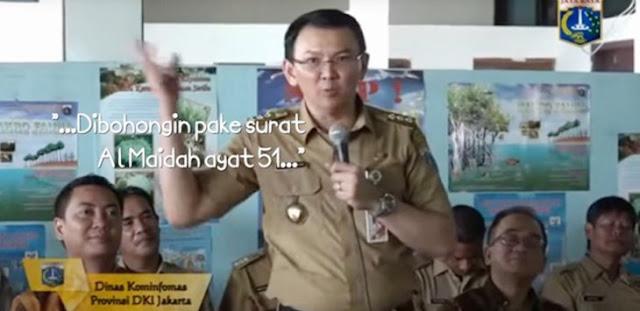 """Studi Bahasa: Mau Ada Kata """"Pakai"""" atau """"Tidak"""", Ahok Sudah Menistakan Agama Islam : Detikberita.co Terbaru Hari Ini"""