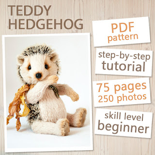 PDF Pattern & Tutorial - Hedgehog