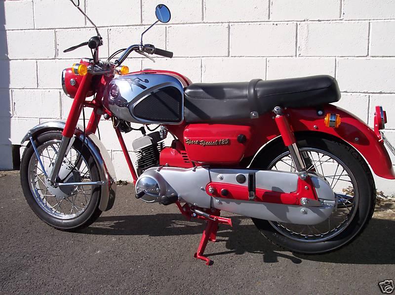 Vintage Kawasaki Motorcycle 18