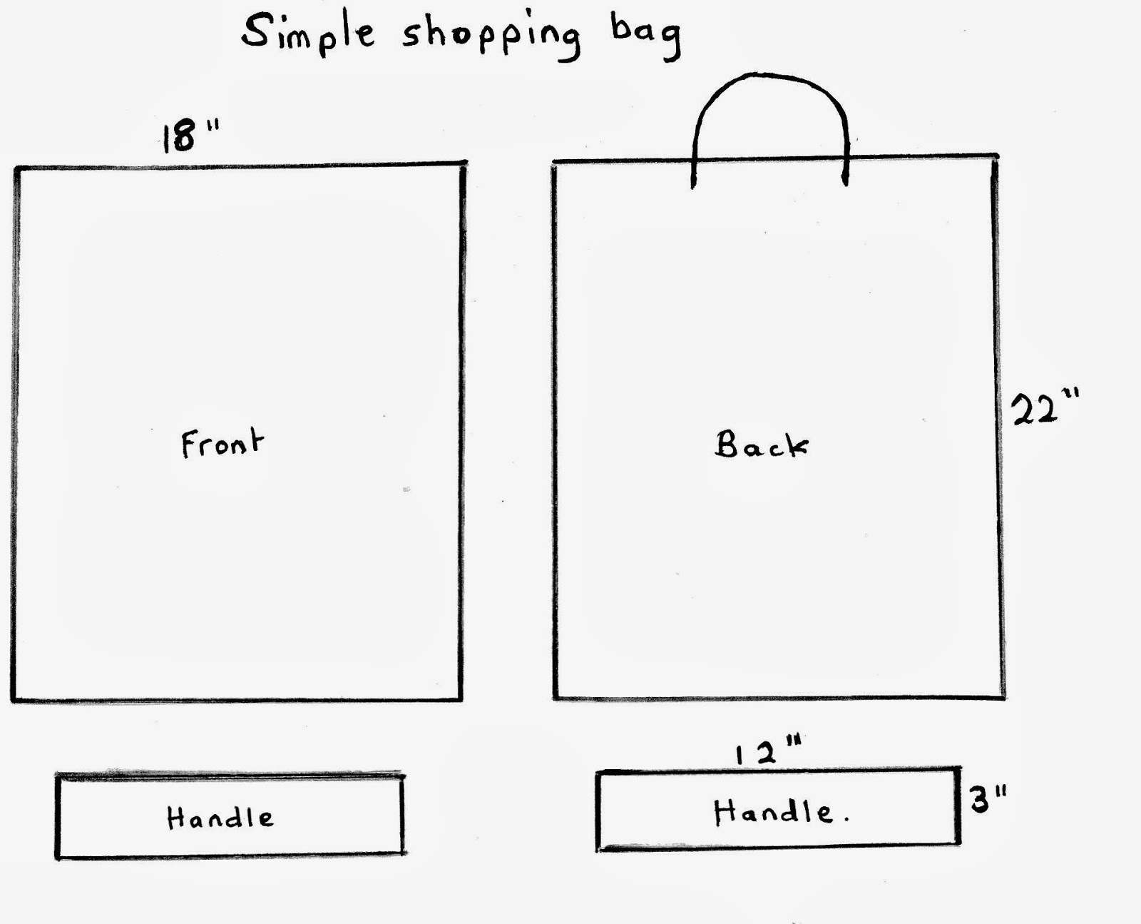 Life After Money Make Your Own Shopping Bag