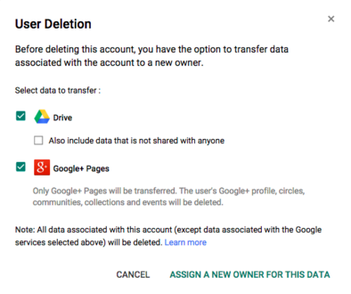 how to change ownership of google drive