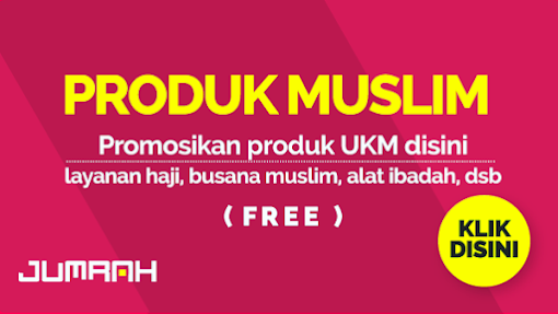 Berpromosi Produk Muslim Mudah dan Cepat   Klik disini Gratis.