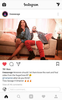 Tiwa Savage collaborate with Omarion