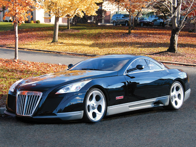 Maybach Exelero - most expensive car in the world