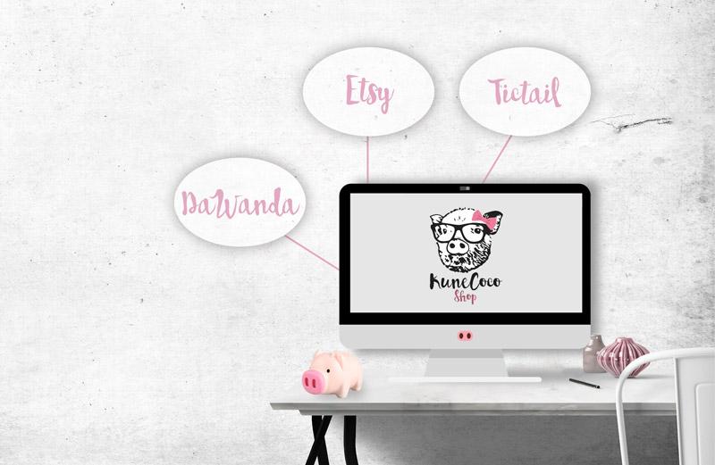 KuneCoco • Mein eigener Onlineshop: Auswahl Shopsystem