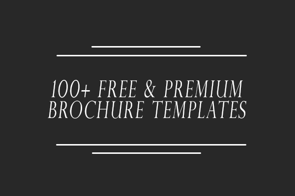 100 free premium brochure templates photoshop psd indesign ai so you did the work to gather some of the best brochure templates with print ready design and fully editable with maxwellsz