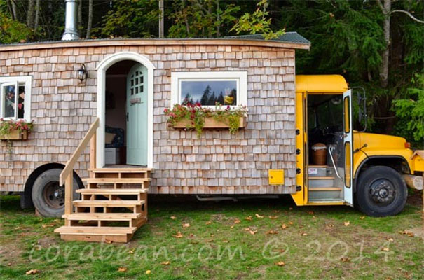 Who Would Have Thought An Old School Bus Could Be Transformed To This?