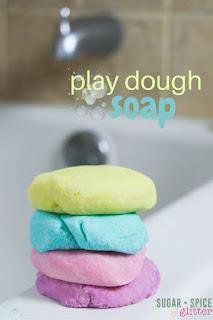 Bath Time Play Dough Soap