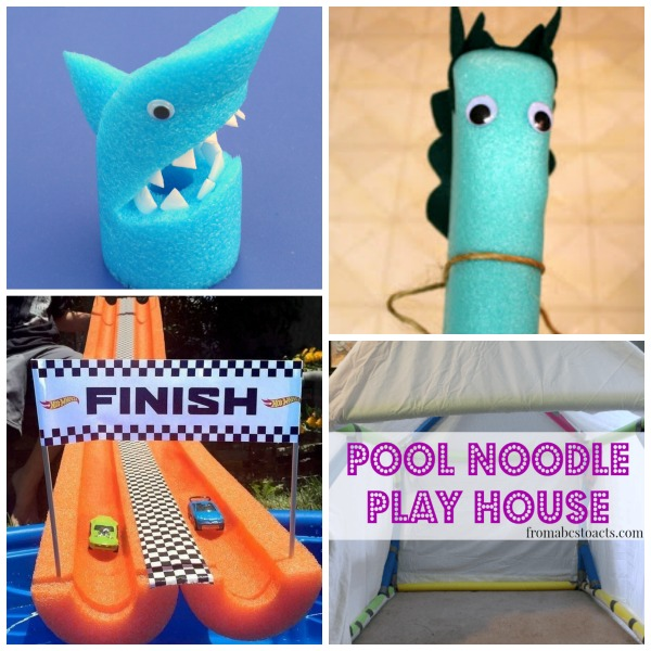 32 AWESOME WAYS FOR KIDS TO USE THOSE NOODLES! (These are awesome!)