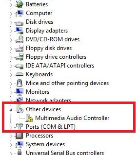 how to reload audio driver win 7