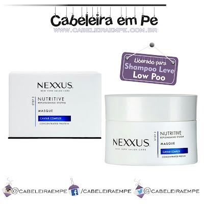 Máscara Nutritive Masque - Nexxus liberada para Shampoo Leve (Low Poo) - Lançamento de linha internacional na Beauty Fair 2016