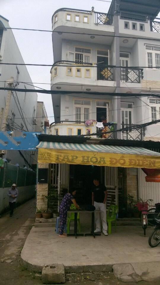 Bán nhà mặt tiền 3 tầng kinh doanh đường Lưu Hữu Phước - Q.8 - TP.HCM