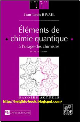 Télécharger Livre Gratuit Éléments de chimie quantique à l'usage des chimistes PDF