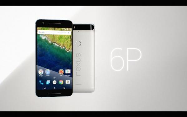 Smartphone Google Nexus 6P do Google và Huawei hợp tác sản xuất