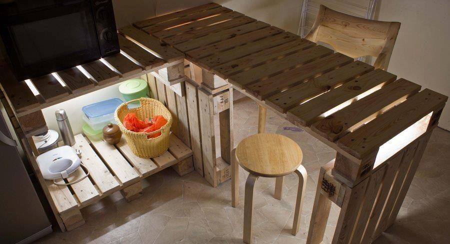 Decoraç u00e3o com paletes de madeira Delta Ferreira -> Decoração Para Jardins Com Paletes