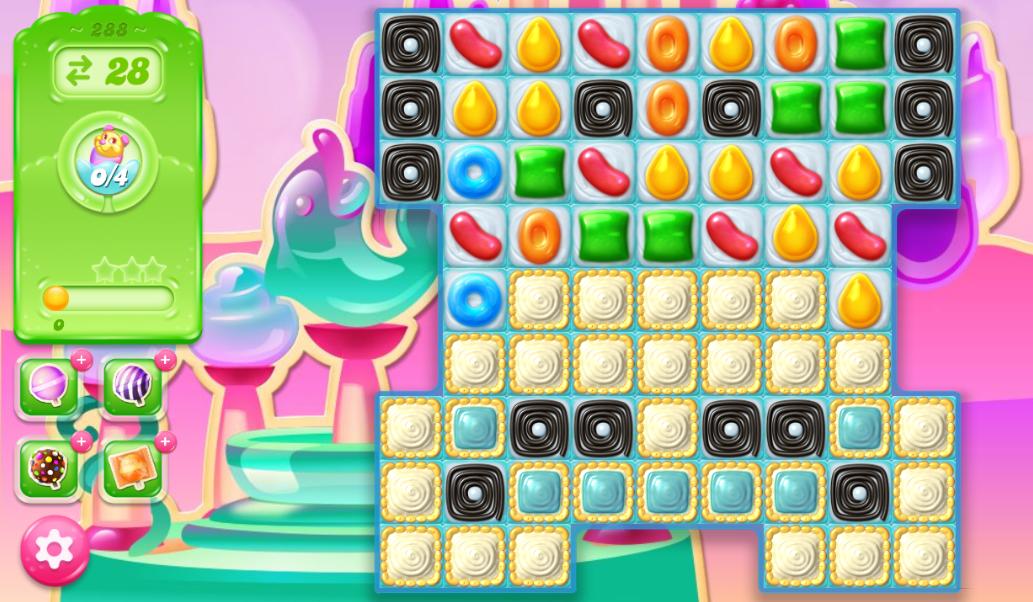 Candy Crush Jelly Saga 288