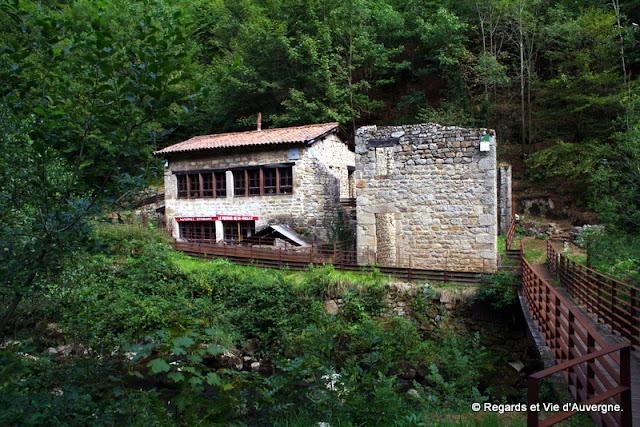 La vallée des Rouets, Thiers, Auvergne.