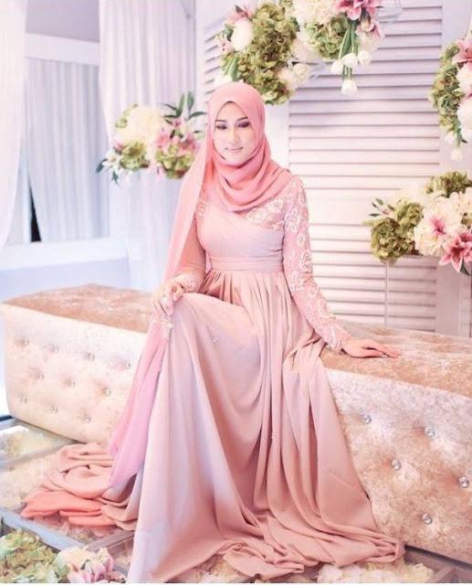 30++ Inspirasi Baju Pengantin Muslim 2017   Tutorial Hijab