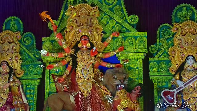 Durga Puja 2018 College Square Durga Idol