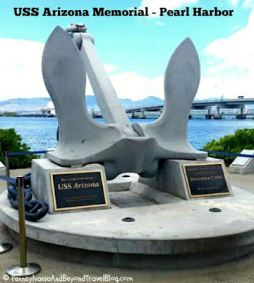 USS Arizona Memorial in Pearl Harbor in Hawaii