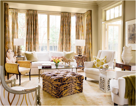 Traditional Feminine Luxury Living Rooms