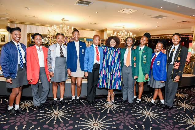 Relebogile Mabotja Pays It Forward With Mentorship Lunch For Matric Girls